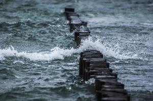 Fala na morzu